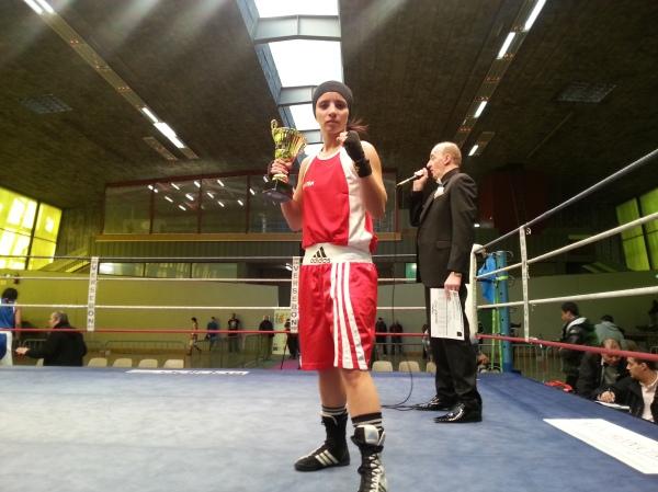 Laila Sekaf - Boxe anglaise - Boxing