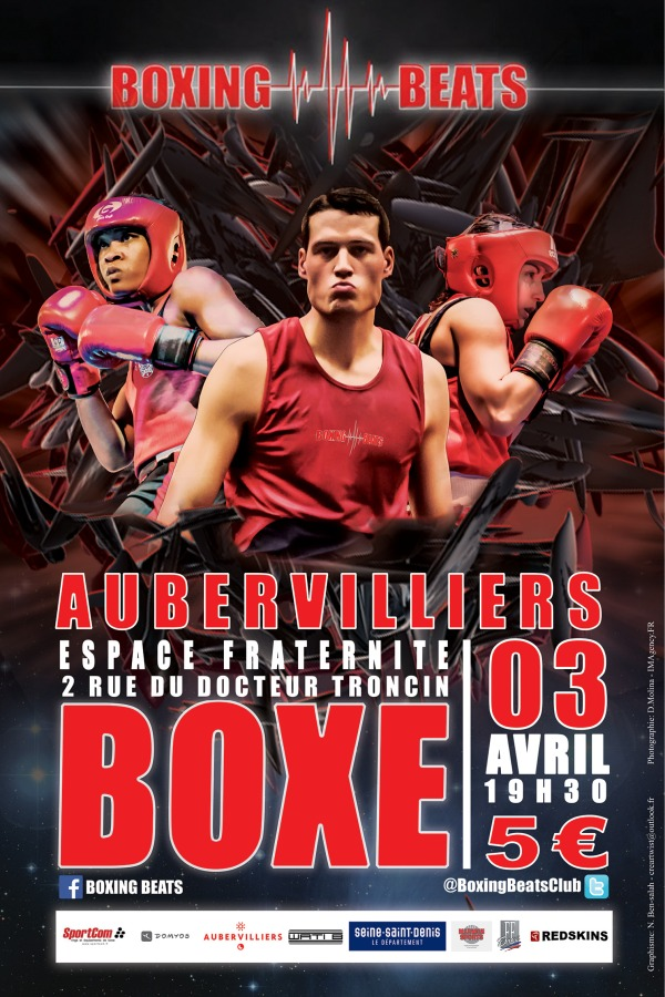 Affiche Boxing Beats